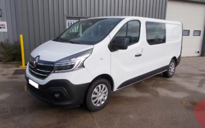 RENAULT TRAFIC L2H1 FOURGON 2.0 Blue DCI 170 TT EDC PACK EXTRA R-LINK CABINE APPROFONDIE FIXE 06 PLACES