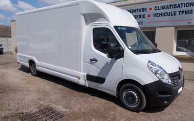 "RENAULT MASTER III ( Phase 2 ) L3H1 T35 PLANCHER CABINE 2.3 DCI 130 GRAND CONFORT POLYVOLUME ""DURISOTTI"" 22 m3"