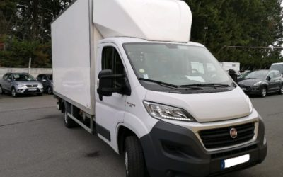 FIAT DUCATO III CCB 2.3 MJET 130 PACK PRO NAV CAISSE 20 m3 + HAYON