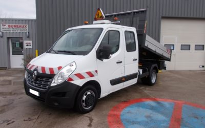 RENAULT MASTER III ( PHASE 2 ) CCB PROPULSION 2.3 DCI 125 GRAND CONFORT DOUBLE CABINE BENNE 06 PLACES