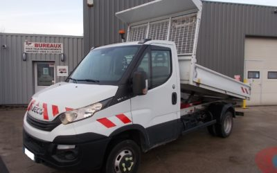 IVECO DAILY CCB 35C14 SIMPLE CABINE BENNE 03 PLACES