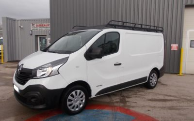RENAULT TRAFIC III L1H1 FOURGON 1.6 DCI 120 GRAND CONFORT + GALERIE