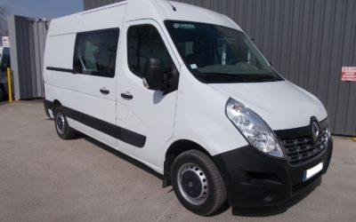 RENAULT MASTER III (Phase 2) L2H2 FOURGON 2.3 DCI 110 GRAND CONFORT CABINE APPROFONDIE FIXE 07 PLACES