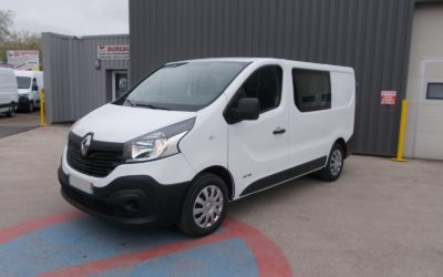 RENAULT TRAFIC III L1H1 FOURGON 1.6 DCI 115 PACK EXTRA MEDIA NAV CABINE APPROFONDIE FIXE 06 PLACES
