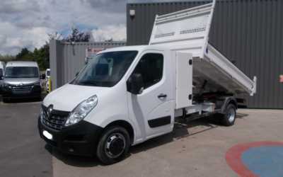 RENAULT MASTER III ( PHASE 2 ) CCB L4H1 PROPULSION 2.3 DCI 130 GRAND CONFORT SIMPLE CABINE BENNE + COFFRE 03 PLACES