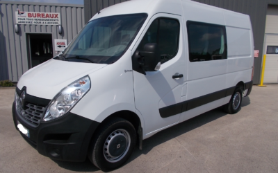 RENAULT MASTER III ( Phase 2 ) L2H2 T35 FOURGON 2.3 DCI 130 GRAND CONFORT CABINE APPROFONDIE REPLIABLE 07 PLACES