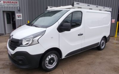 RENAULT TRAFIC III L1H1 FOURGON 1.6 DCI 90 CONFORT + GALERIE