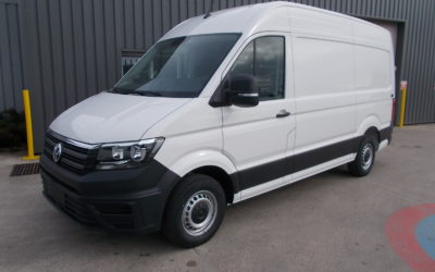 VOLKSWAGEN CRAFTER 35 L3H3 FOURGON TRACTION 2.0 TDI 140 BUSINESS LINE + GPS